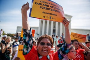 The US supreme court is preparing to rule on whether a plan to ask residents about citizenship on the 2020 census is constitutional.
