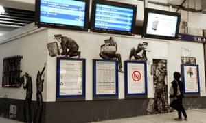 Gare du Nord Quai 36 art project