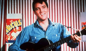 Elvis Presley in the 1964 MGM film Roustabout.