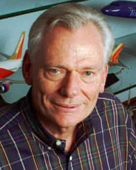 Herb Kelleher, Southwest Airlines' co-founder and chief executive.