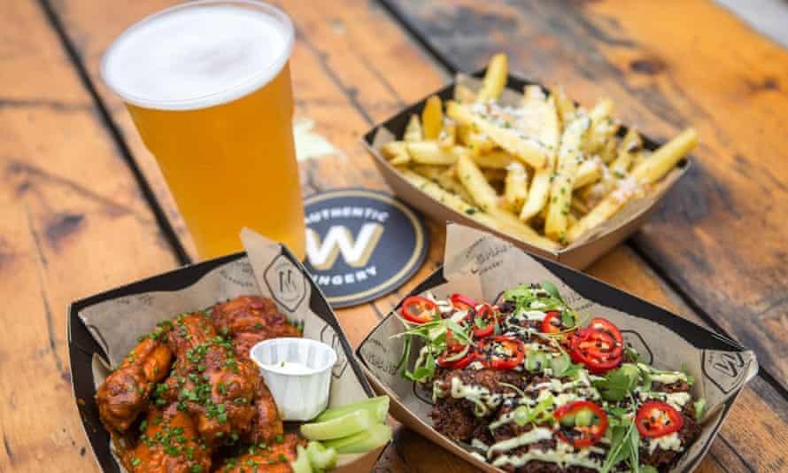 Wingmans chicken wings
