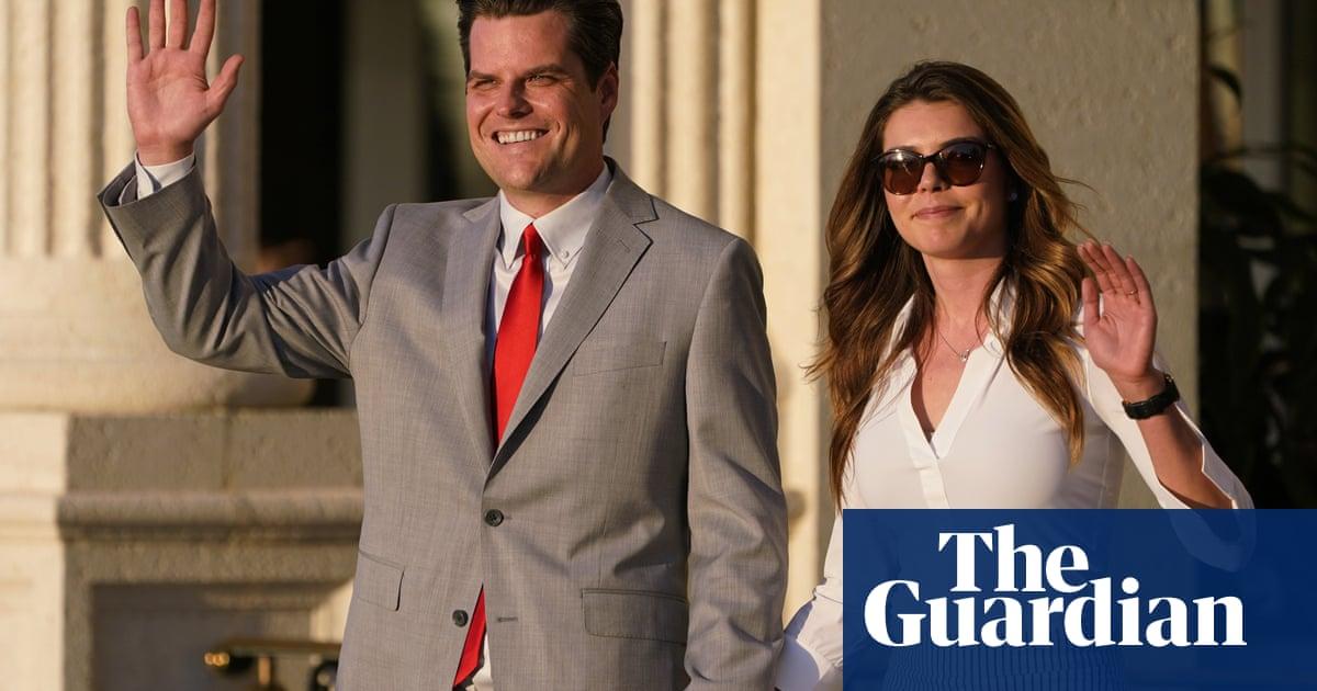 Matt Gaetz, Republican in sex-trafficking investigation, marries in California