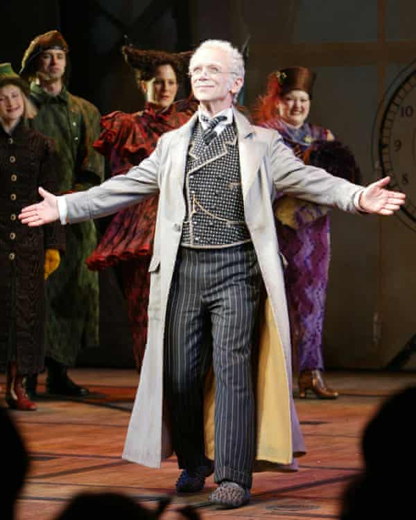 Performing in Wicked.