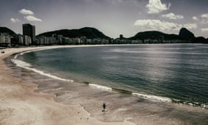 Despite a national lockdown that has left iconic landmarks like the Copacabana beach deserted, there are fears Brazilians may underestimate the thret posed by Covid-19.
