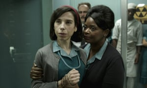 Sally Hawkins and Octavia Spencer in Shape of Water