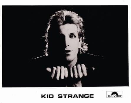 Doctors Of Madness, Kid Strange promo photo, 1976.