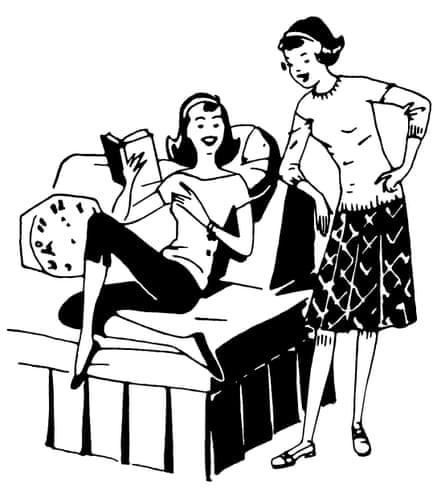 Girls Laughing.