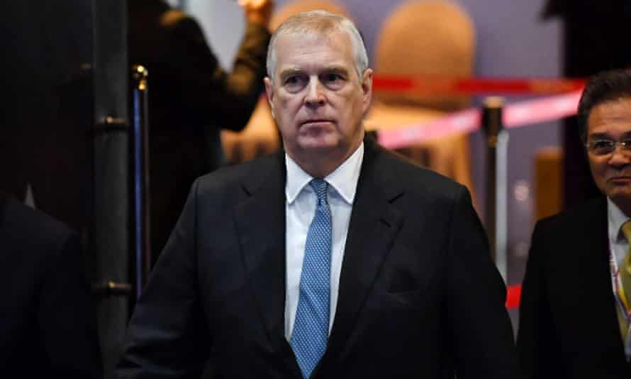 Prince Andrew in Thailand earlier this month