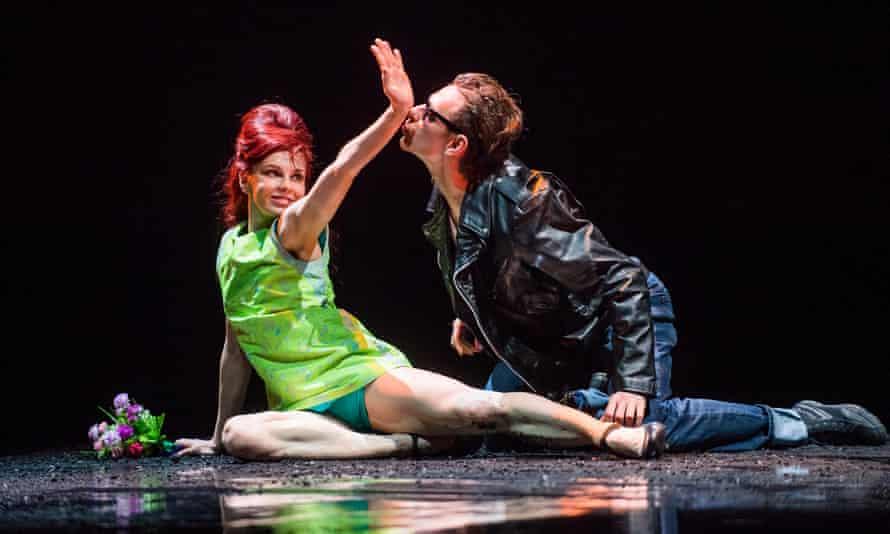 'A thrown-together, under-rehearsed look': Natalia Osipova with Sergei Polunin in Arthur Pita's Run Mary Run.