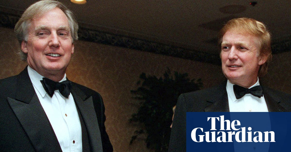 Robert Trump Donald's brother seriously ill in New York hospital – The Guardian