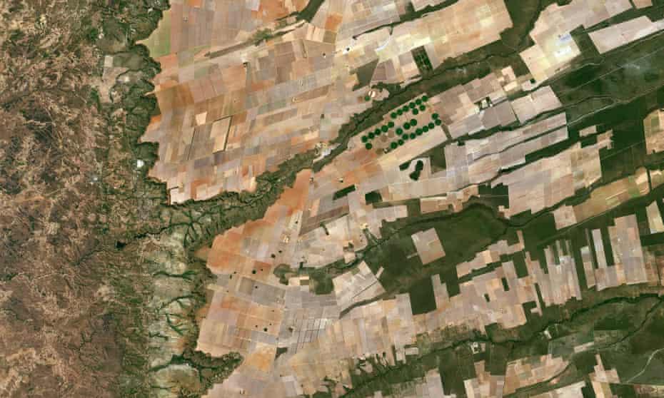 Central-eastern Brazil.