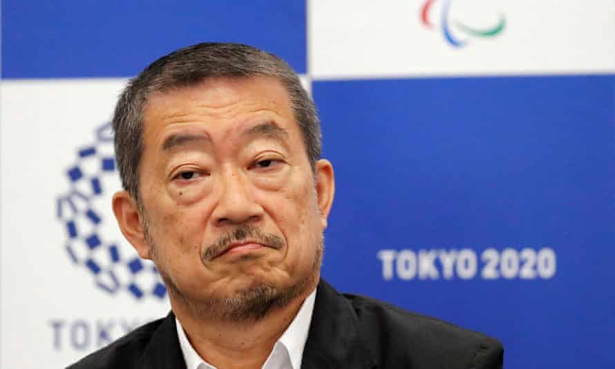 Hiroshi Sasaki, a 66-year-old ad man, who  is to quit as director of ceremonies for this year's Tokyo Olympics.