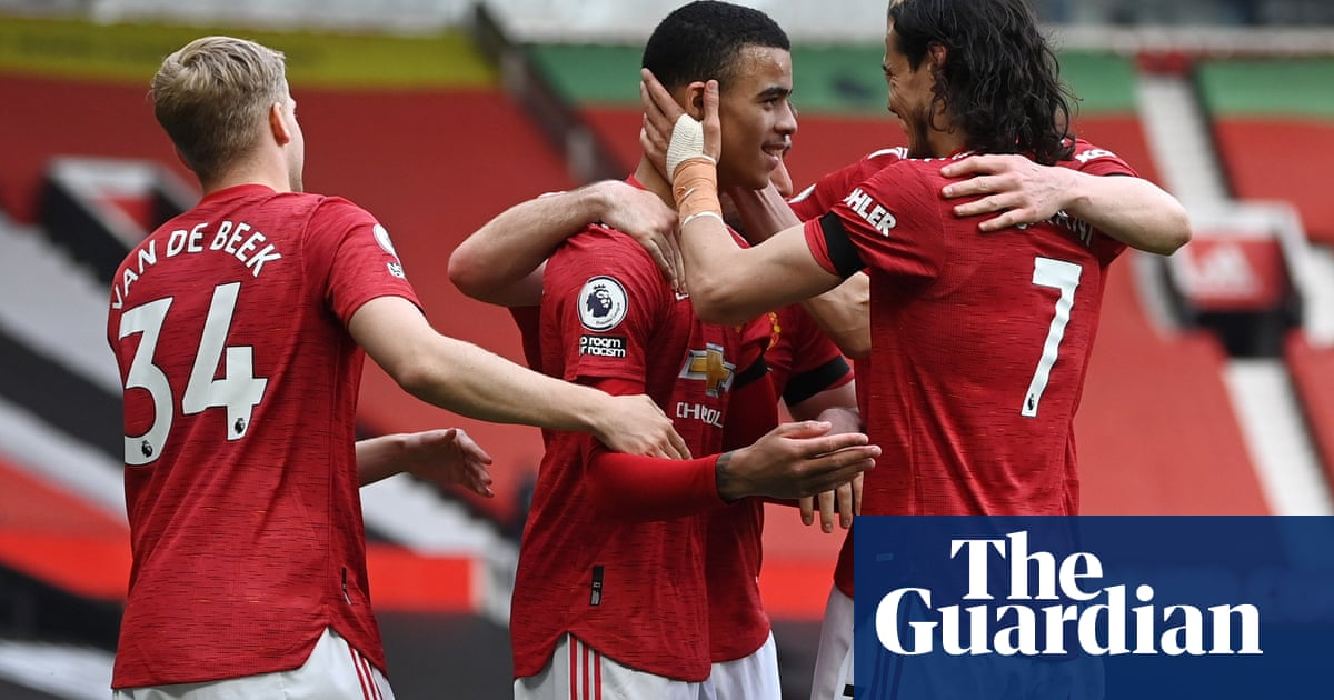 Mason Greenwood double and Cavani take Manchester United past Burnley