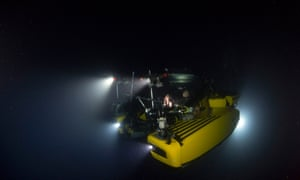The deepest ocean is nearly 11km down.