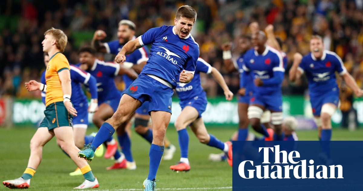 More late drama as France close out win over Australia with last-gasp penalty