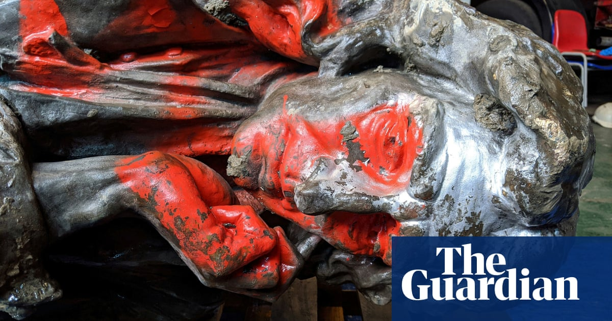 Statue of slave trader Edward Colston to go on display in Bristol museum