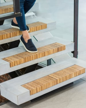 A chopstick staircase
