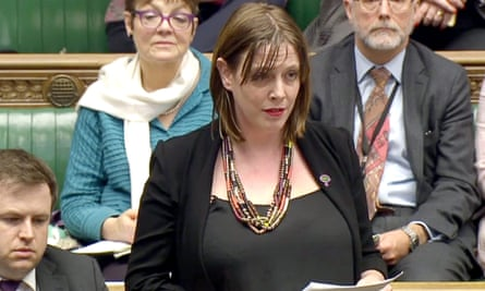 Jess Phillips in the Commons