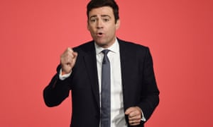 Andy Burnham: badly hurt by defeat.