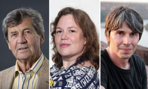 Learn from the best … Melvyn Bragg, Helen Zaltzman, and Prof Brian Cox.