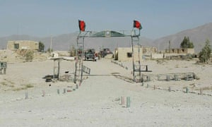 One of Zardad's checkpoints