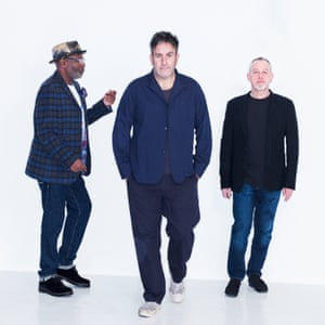 Left to right: Lynval Golding, Terry Hall, Horace Panter.