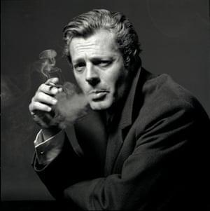Marcello Mastroianni, 1963.