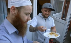 Abdul and Lee in C4's Extremely British Muslims