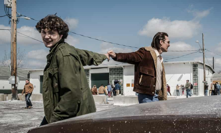 Warmth … Matthew McConaughey with newcomer Richie Merritt in White Boy Rick.