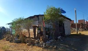 The Aparicio family home in Tlaxiaco