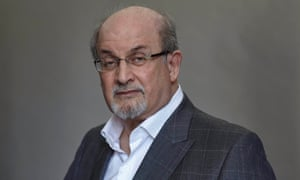 'I have an itch to get outside the bubble' … Salman Rushdie.