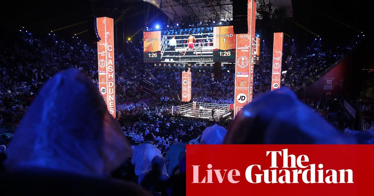 3500 - Anthony Joshua v Andy Ruiz: world heavyweight boxing rematch – live! | Sport