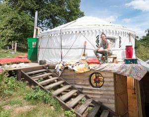 Hapus Yurt – owned by Jack Fetherstonhaugh