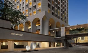 This new hotel, The Murray, was once a government office.