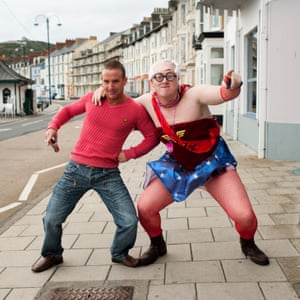 A old-style stag night in Aberystwyth in 2011