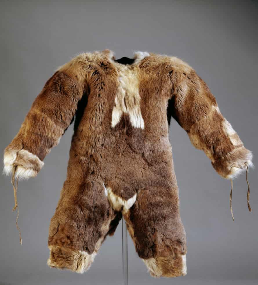 A child's fur onesie.