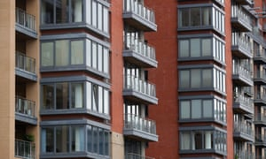 Residential blocks in Manchester city centre