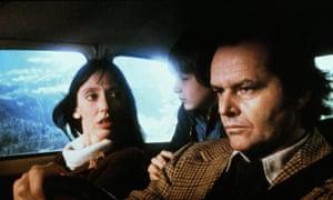 Shelley Duvall, Danny Lloyd and Jack Nicholson in The Shining.