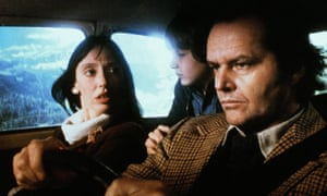 Shelley Duvall, Danny Lloyd and Jack Nicholson in The Shining, directed by Stanley Kubrick, 1980.