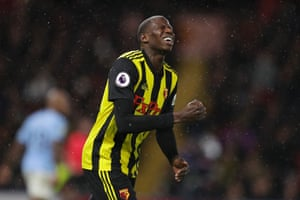 Watford's Abdoulaye Doucouré knows he should have done better.