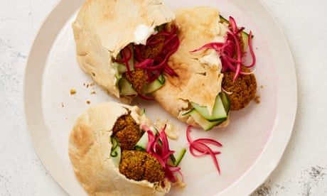 Meera Sodha's vegan recipe for baked carrot falafel