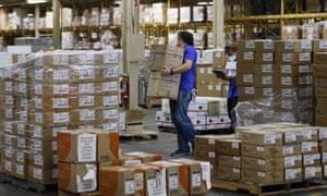 Oklahoma's Strategic National Stockpile warehouse