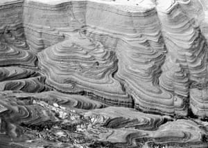 Interplay of Landscape and Geology, SE of Sana'a, Yemen, by Marc Andre Bunzli