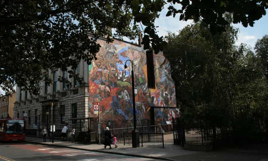 The Cable Street mural embodies physical resistance.
