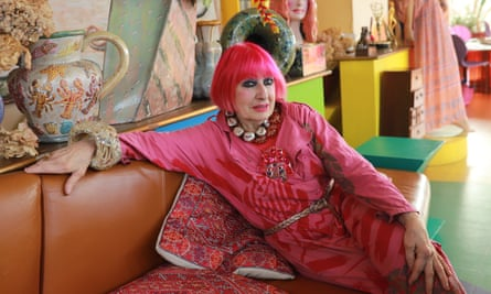 'Zandra Rhodes reflects on 50 years in fashion' ... The Last Bohemians podcast
