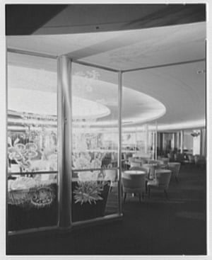 One of the ballrooms as seen in the 1950s
