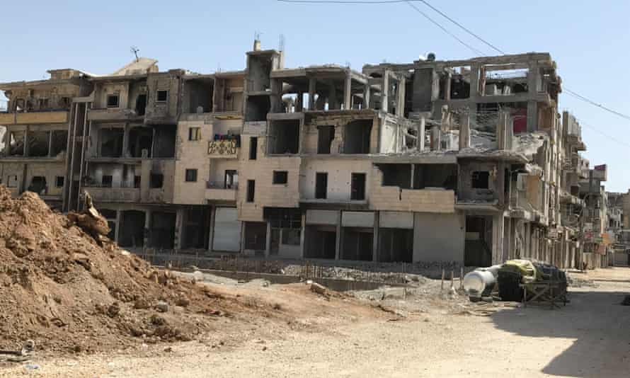 'More than 11,000 buildings are uninhabitable and Raqqa is widely considered the most-destroyed city of modern times.'