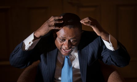 Nigerian-born forensic pathologist Bennet Omalu detailed the effects of chronic traumatic encephalopathy in American football players.