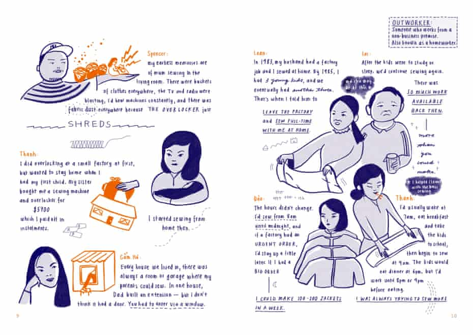 Stories of Vietnamese garment workers in Australia