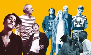 Elastica, Underworld, Blur, Wolf Alice and Young Fathers.